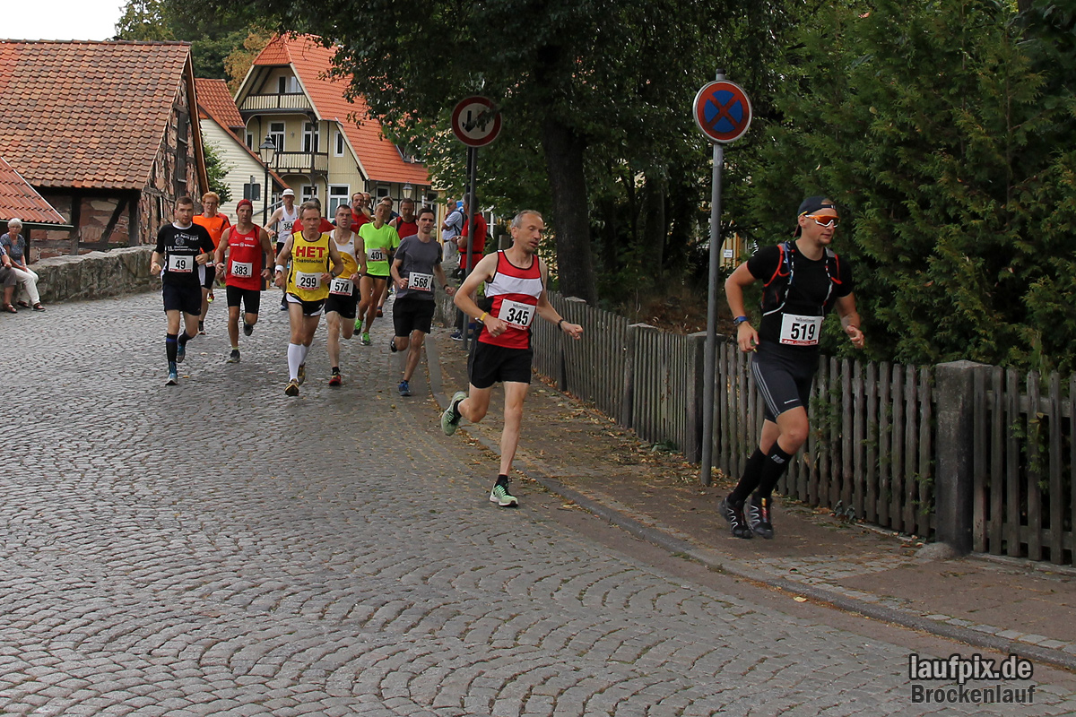 Brockenlauf 26km Start 2016 - 45