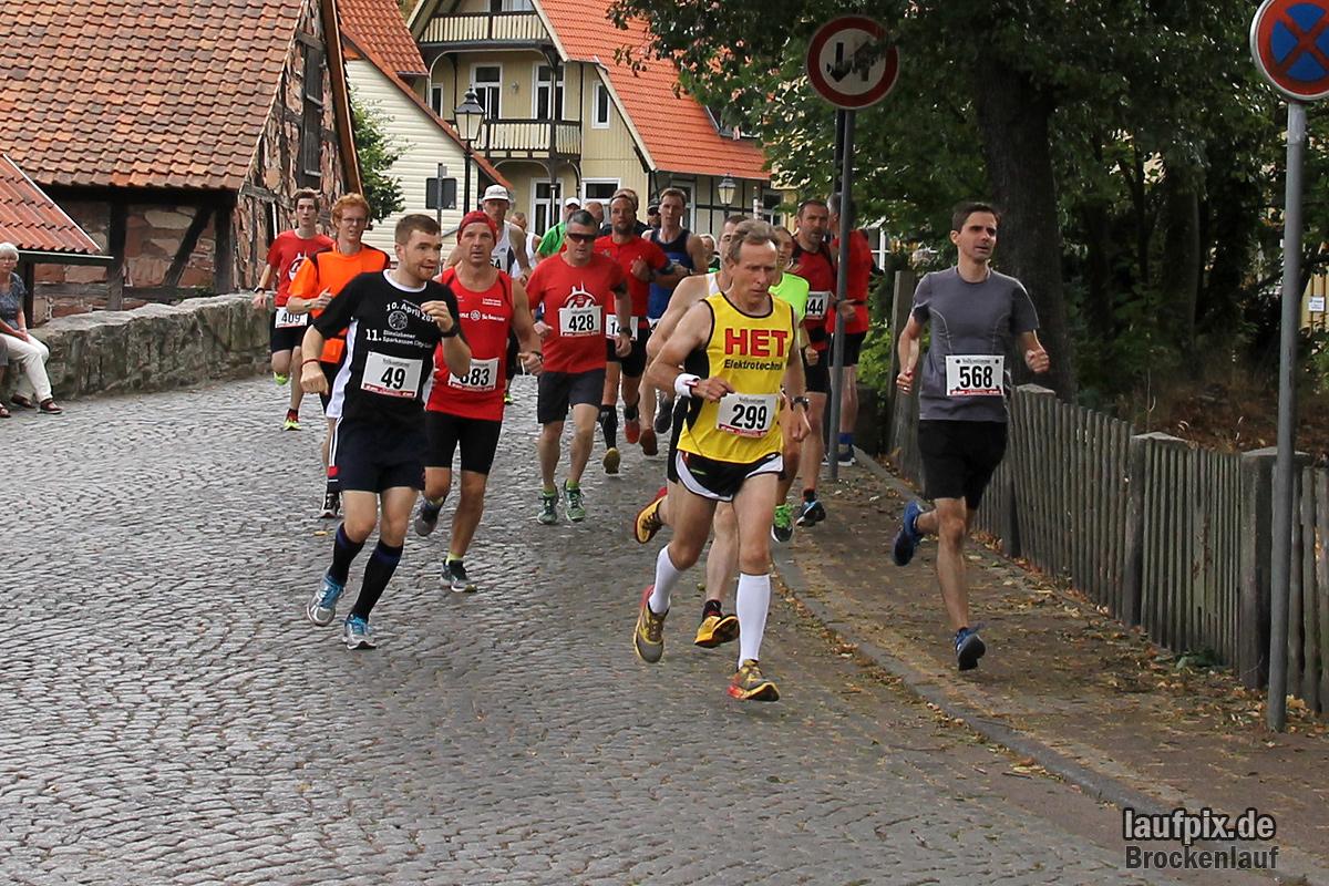 Brockenlauf 26km Start 2016 - 48