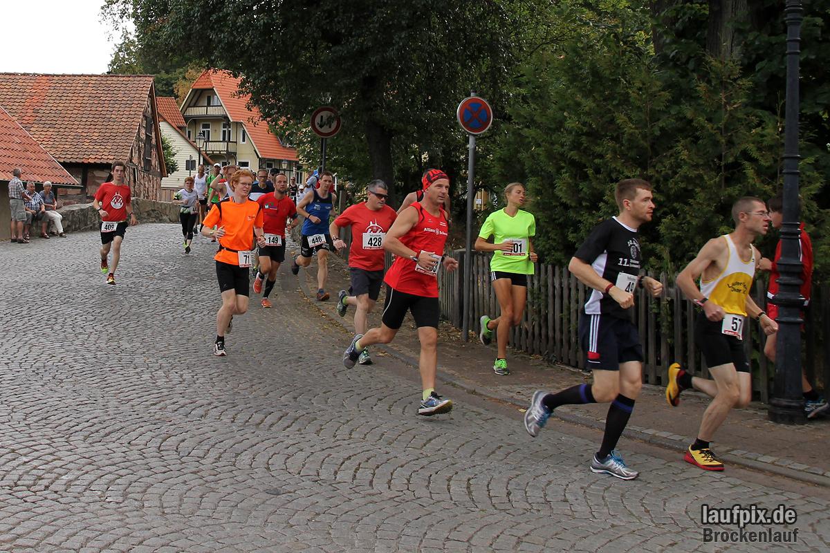 Brockenlauf 26km Start 2016 - 51