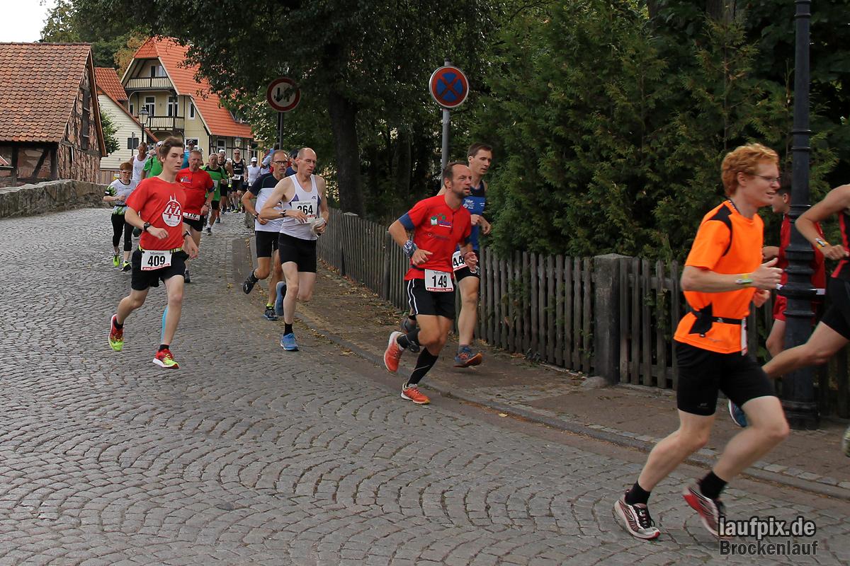 Brockenlauf 26km Start 2016 - 55