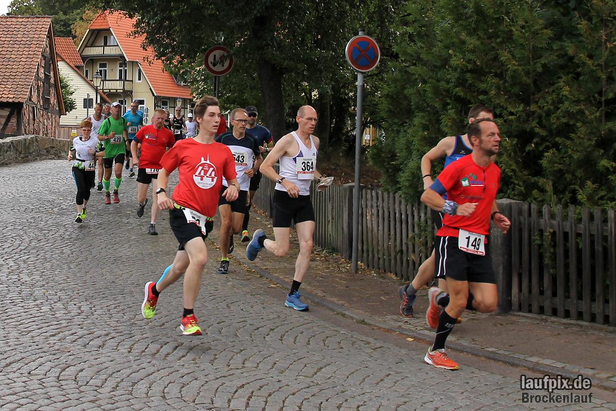 Brockenlauf 26km Start 2016 - 56