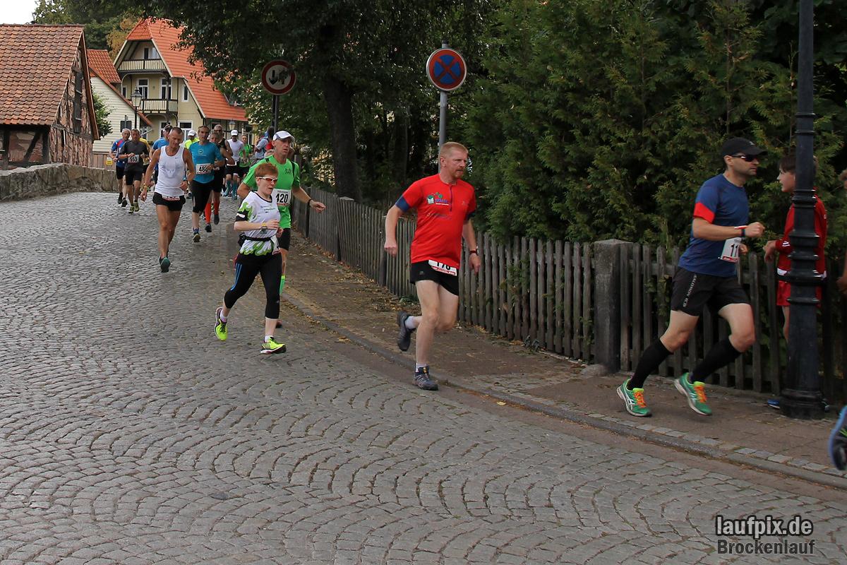Brockenlauf 26km Start 2016 - 61