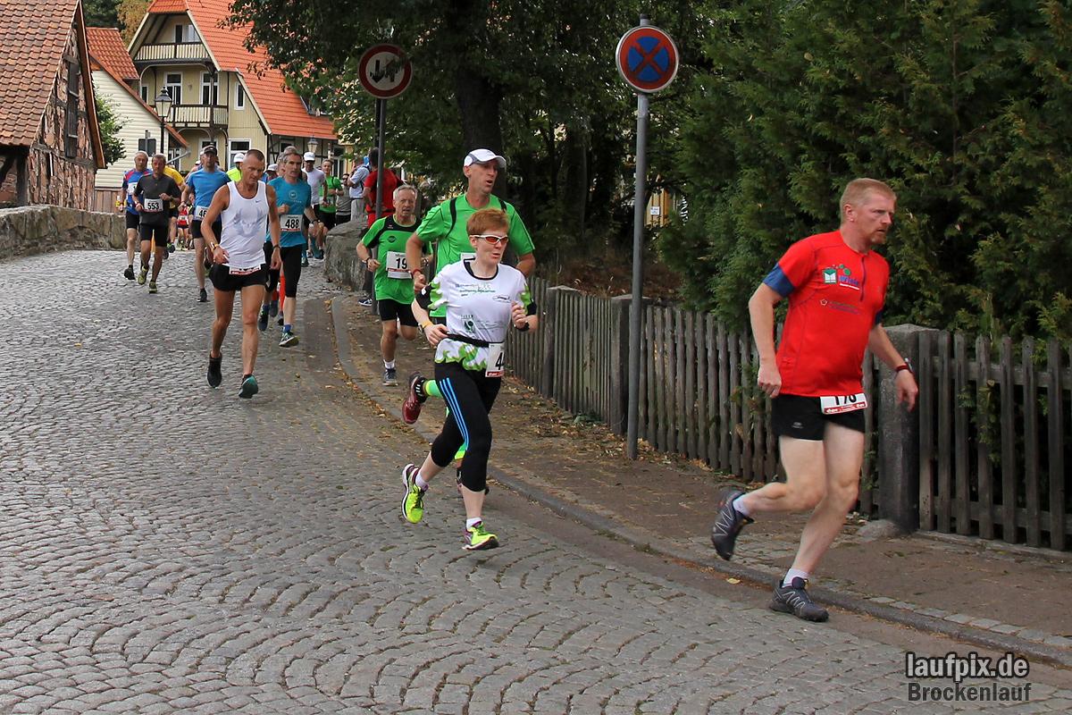 Brockenlauf 26km Start 2016 - 62