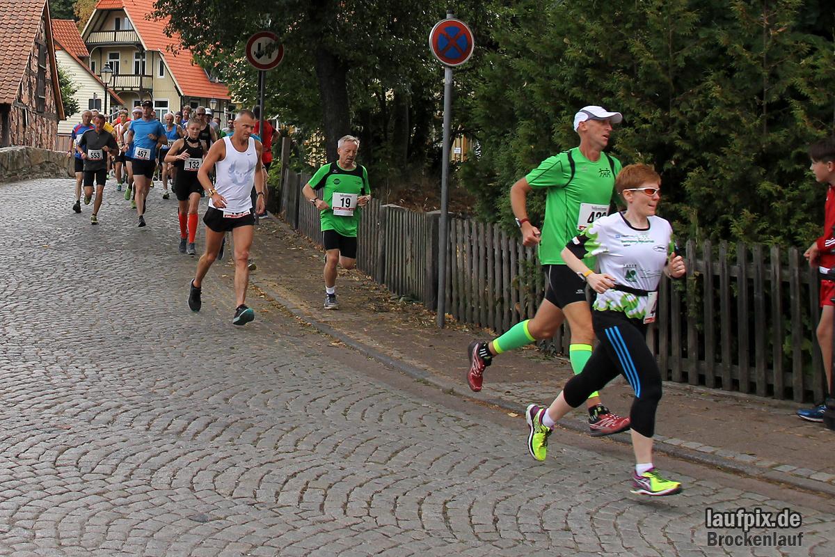 Brockenlauf 26km Start 2016 - 64