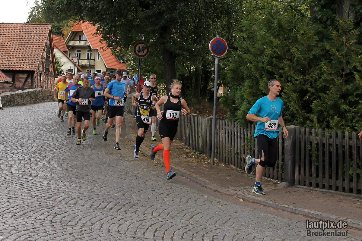 Brockenlauf 26km Start 2016 - 67