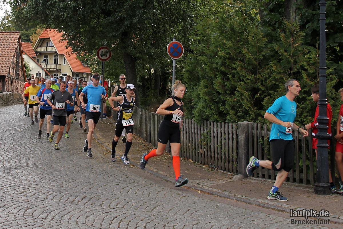 Brockenlauf 26km Start 2016 - 68