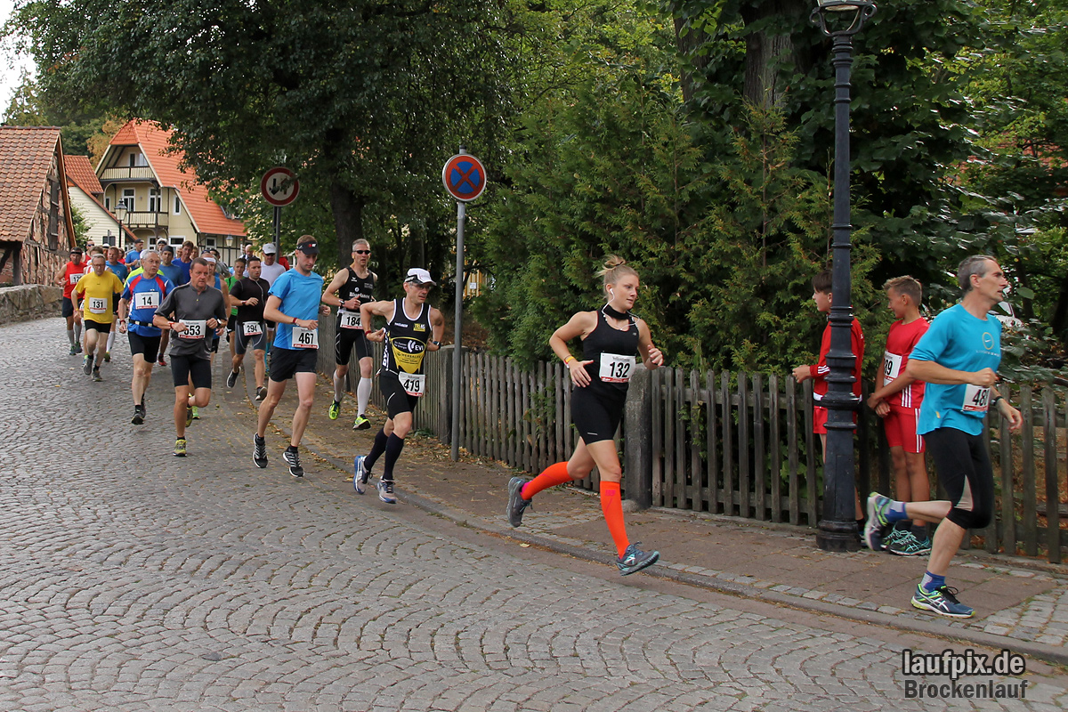 Brockenlauf 26km Start 2016 - 69