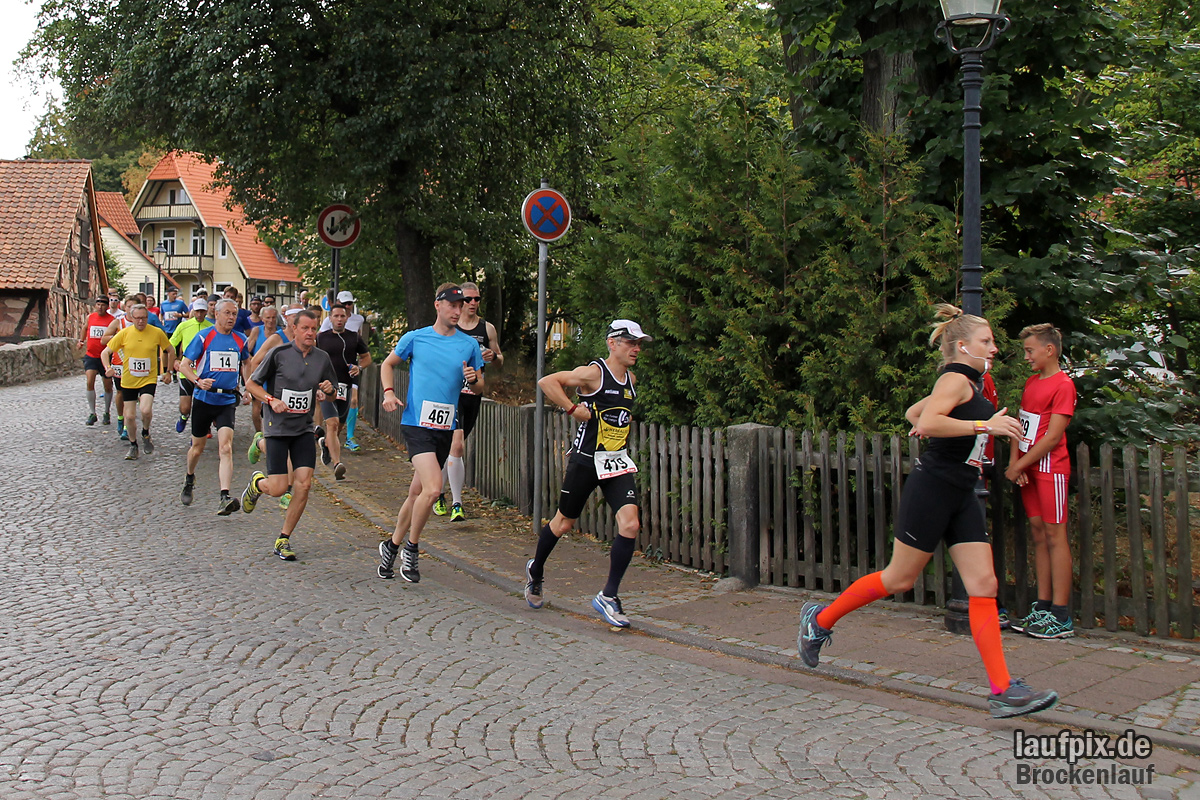 Brockenlauf 26km Start 2016 - 70