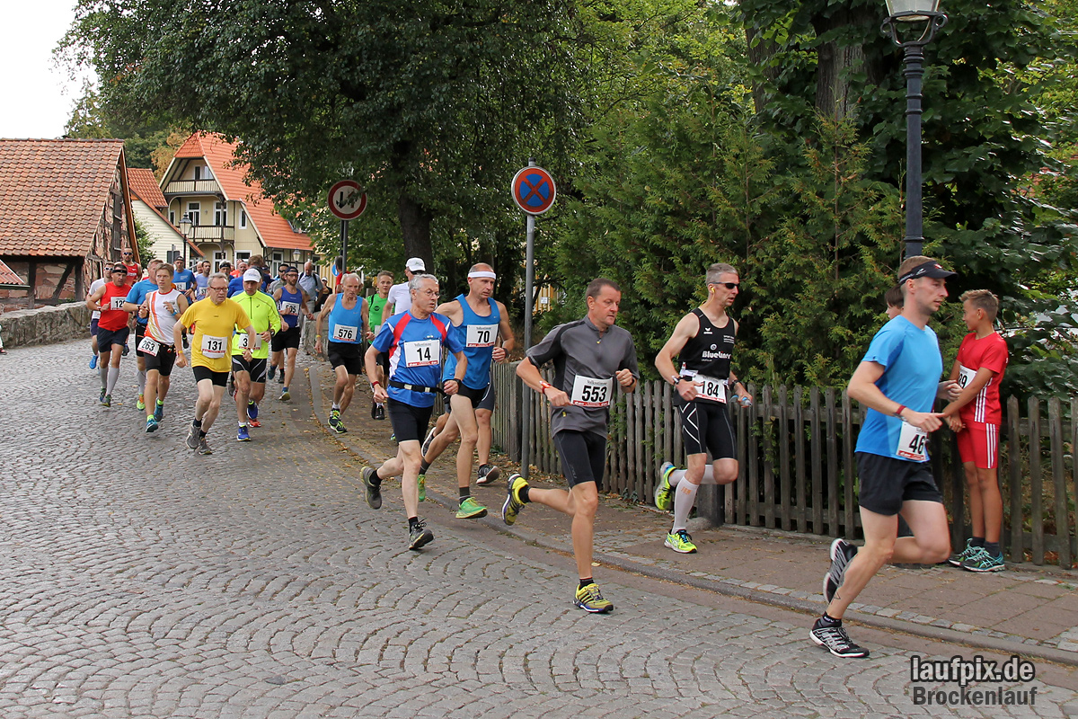 Brockenlauf 26km Start 2016 - 73