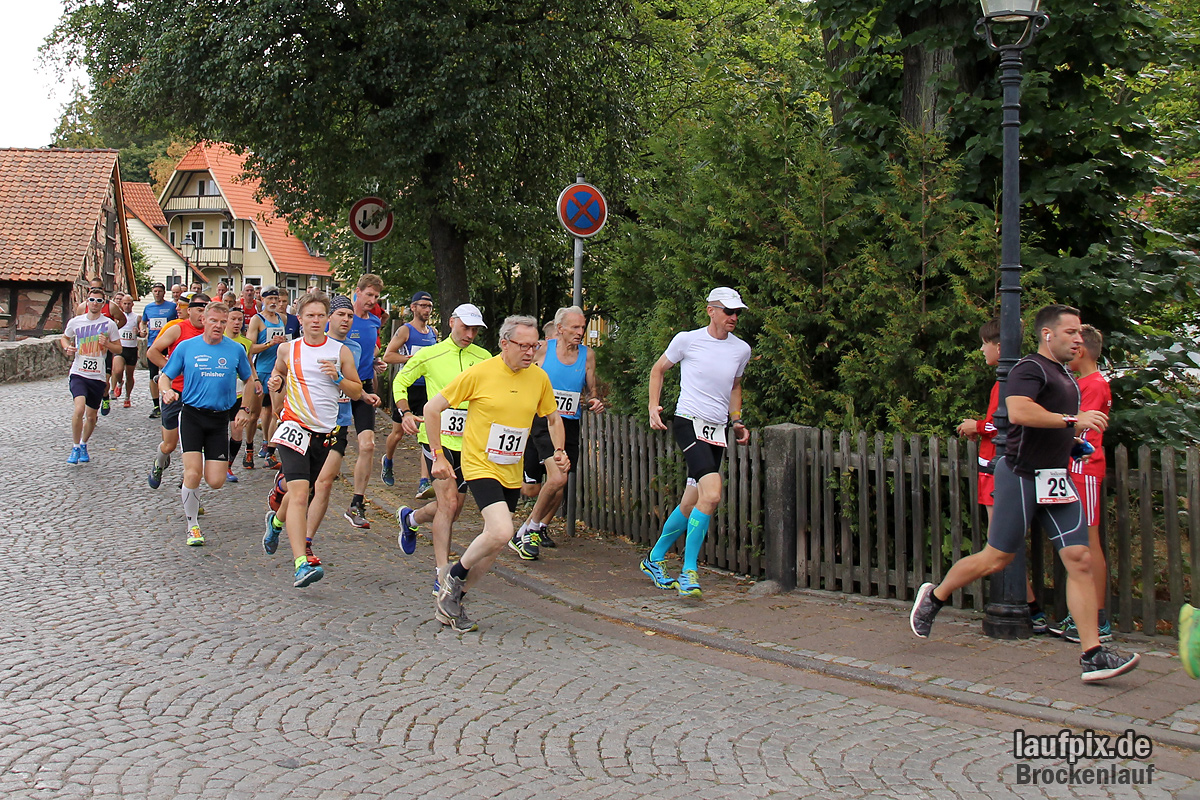 Brockenlauf 26km Start 2016 - 74