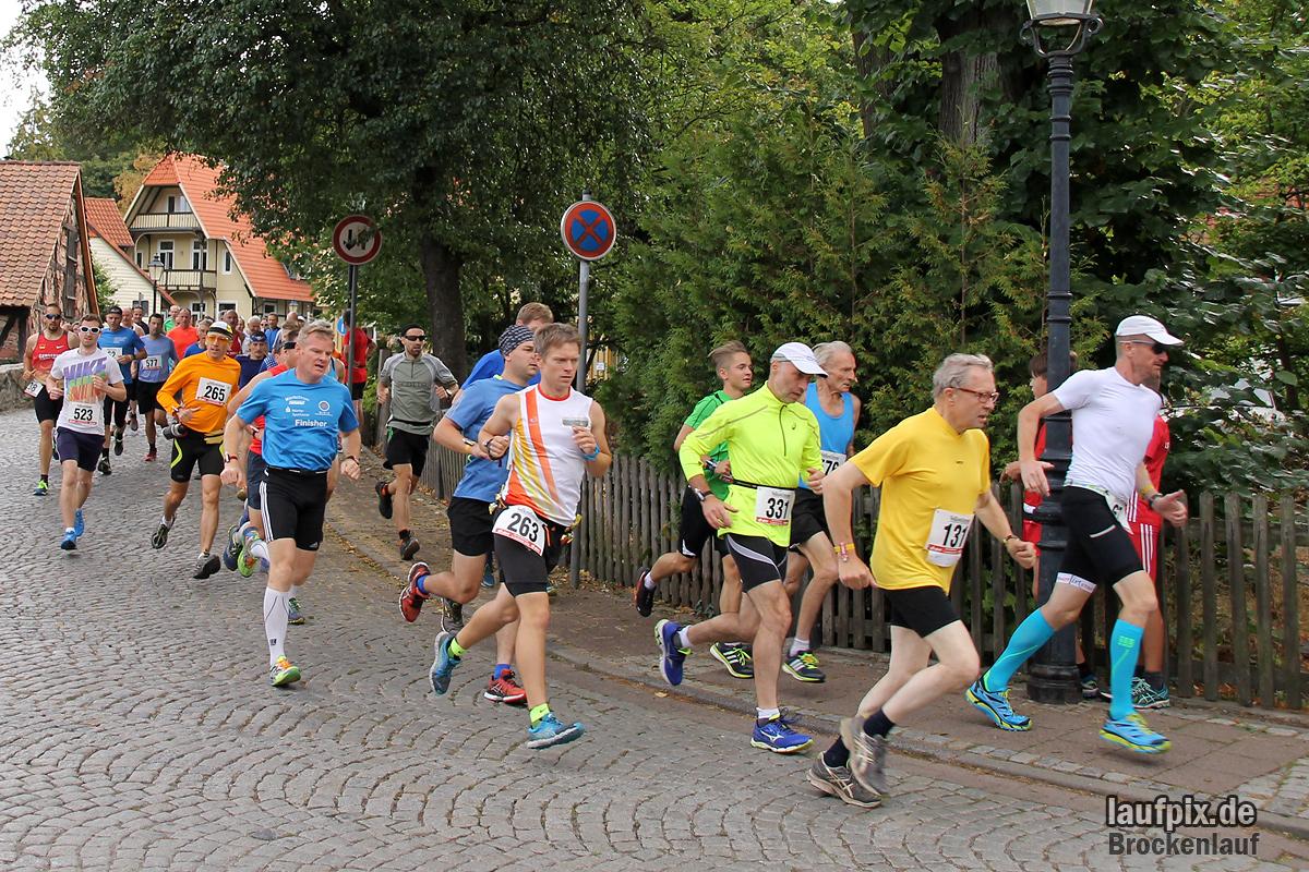 Brockenlauf 26km Start 2016 - 76