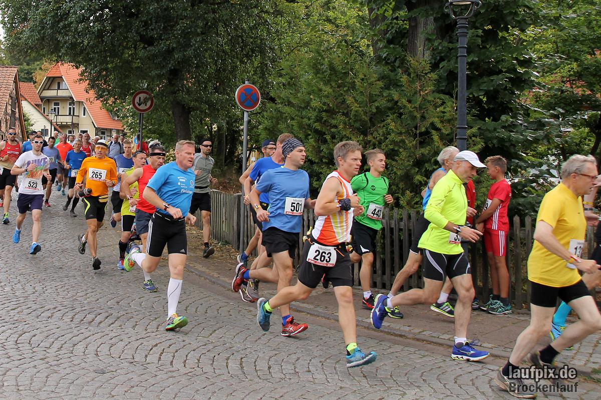 Brockenlauf 26km Start 2016 - 77