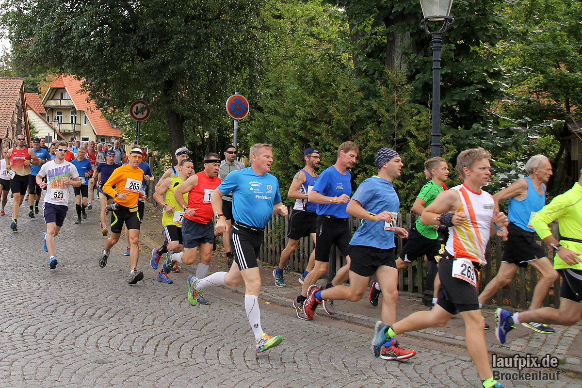 Brockenlauf 26km Start 2016 - 78