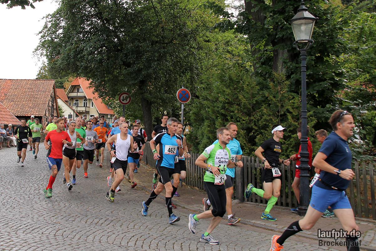 Brockenlauf 26km Start 2016 - 91