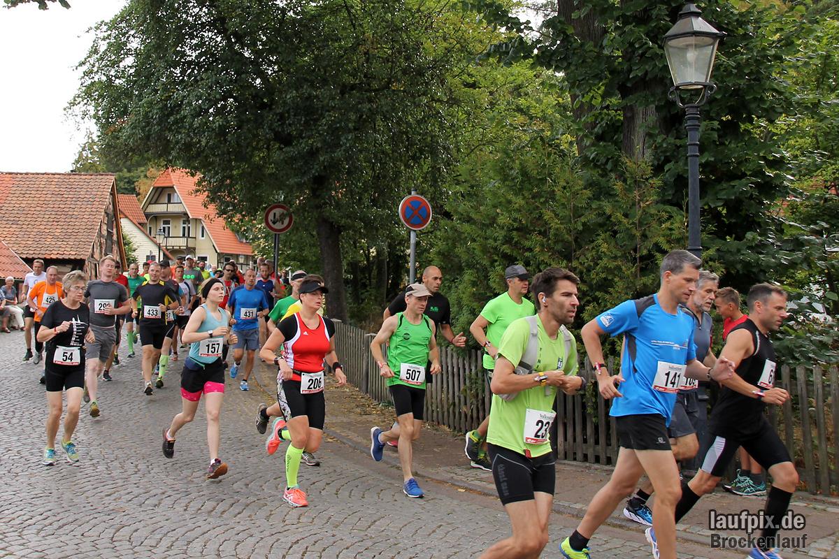 Brockenlauf 26km Start 2016 - 124