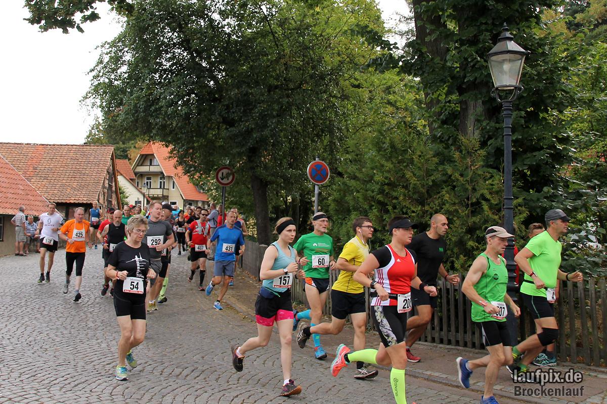 Brockenlauf 26km Start 2016 - 126
