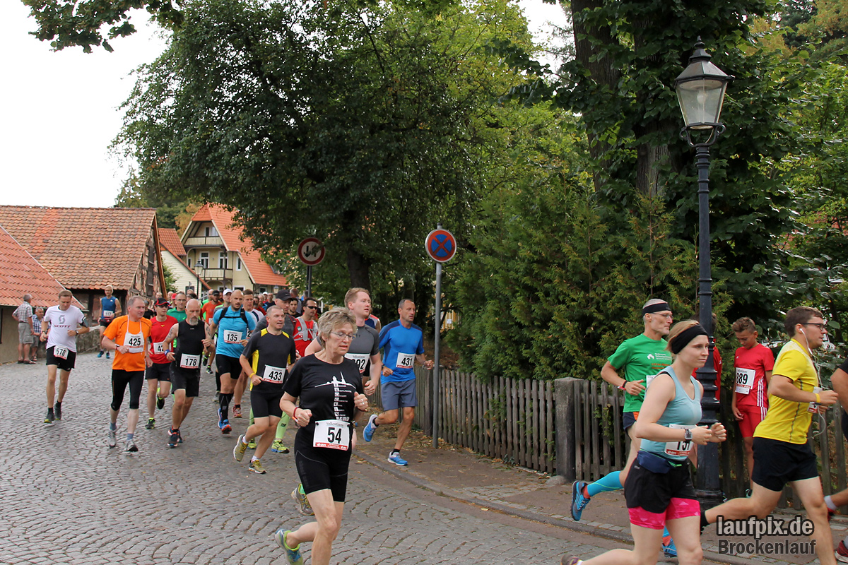 Brockenlauf 26km Start 2016 - 128
