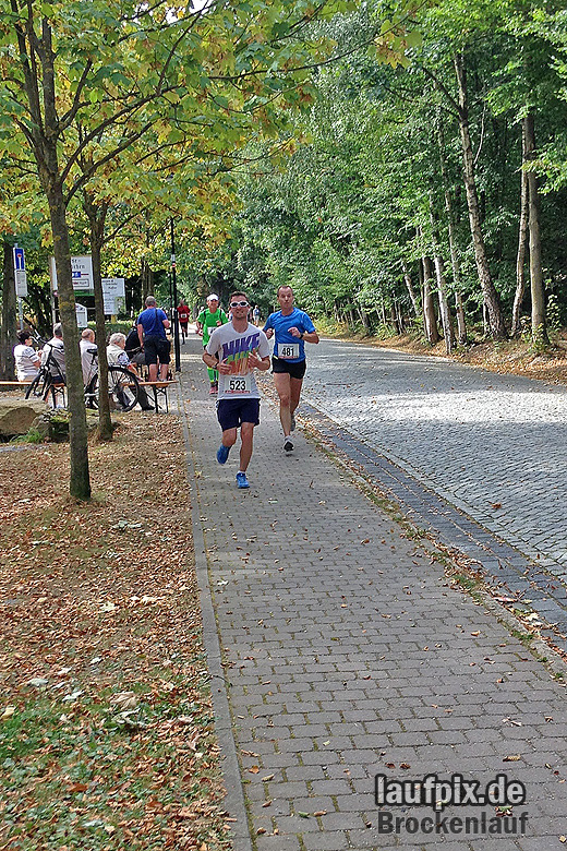 Brockenlauf 26km Ziel 2016 - 34