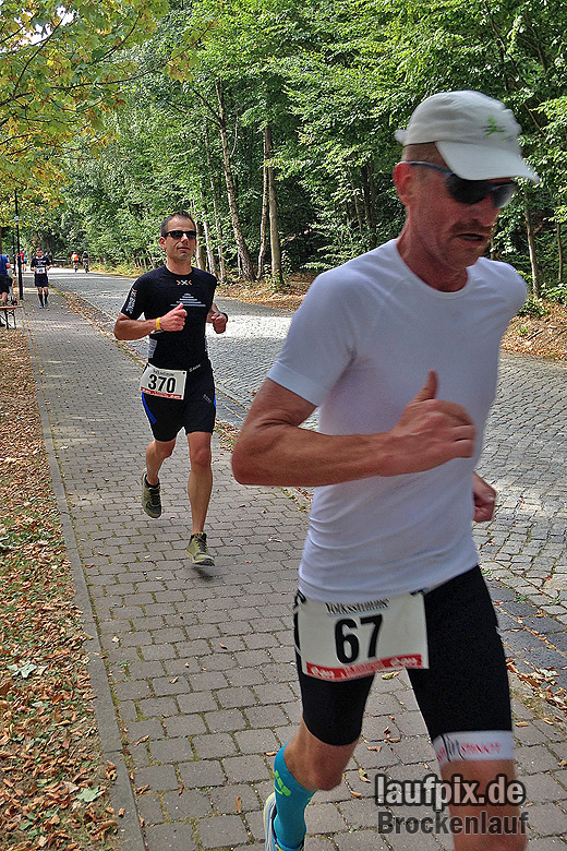 Brockenlauf 26km Ziel 2016 - 45
