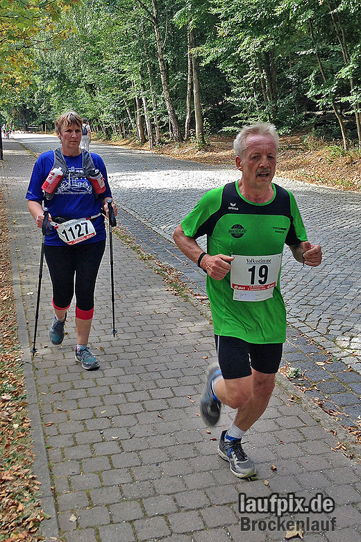 Brockenlauf 26km Ziel 2016 - 58