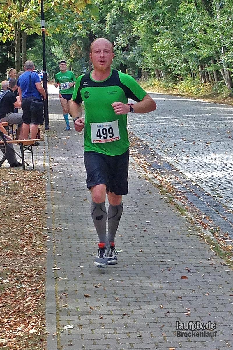 Brockenlauf 26km Ziel 2016 - 26