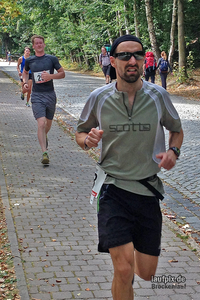 Brockenlauf 26km Ziel 2016 - 31