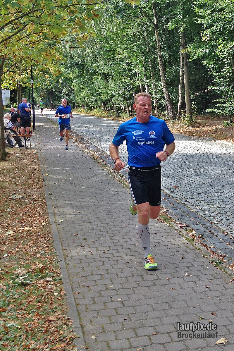 Brockenlauf 26km Ziel 2016 - 40