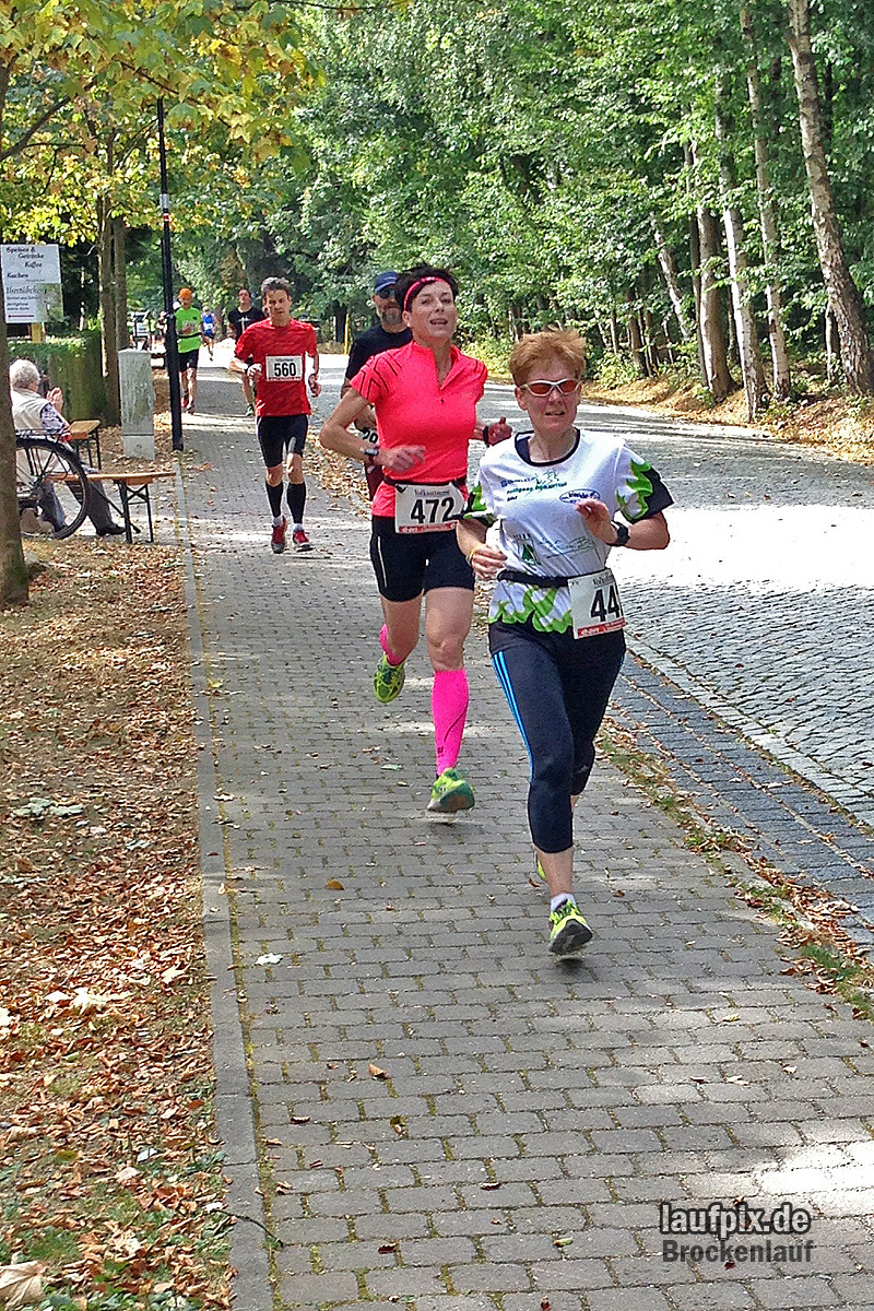 Brockenlauf 26km Ziel 2016 - 94