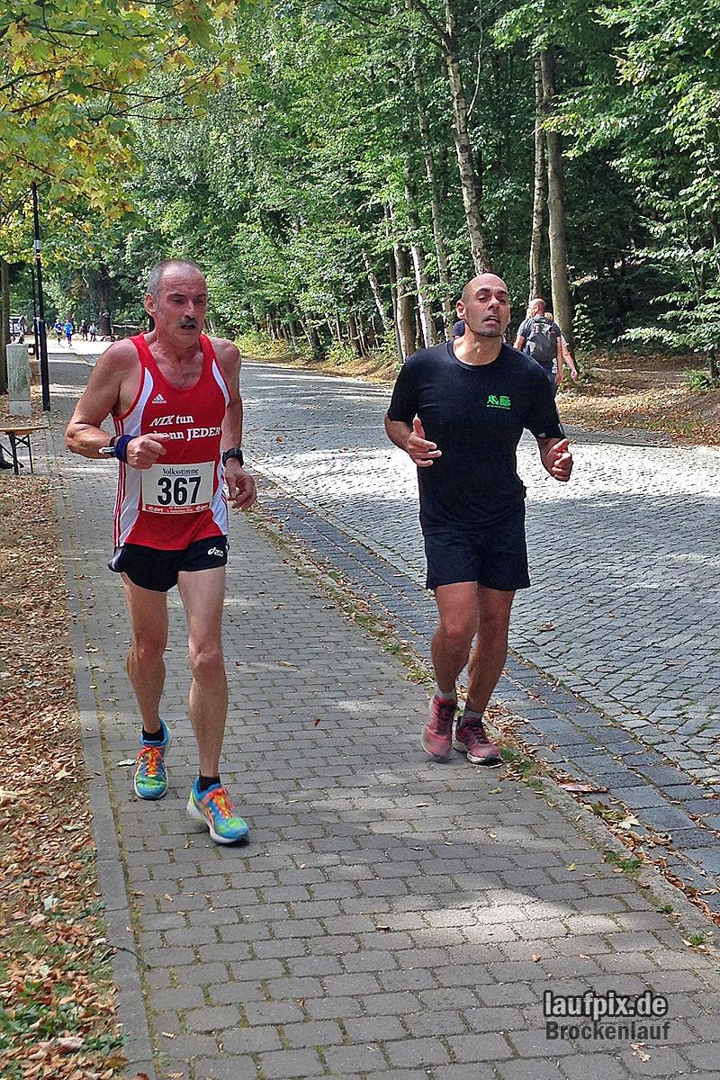 Brockenlauf 26km Ziel 2016 - 107
