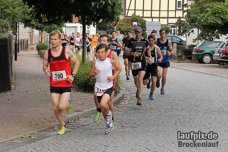 Brockenlauf 9km Start 2016 - 11
