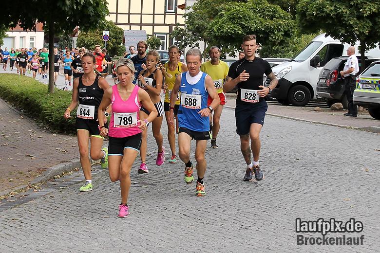 Brockenlauf 9km Start 2016 - 29
