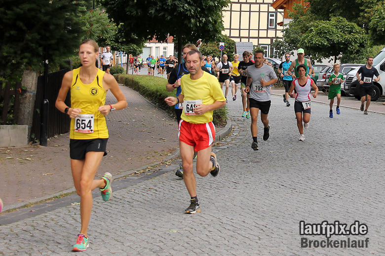 Brockenlauf 9km Start 2016 - 32
