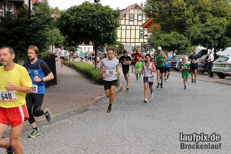 Brockenlauf 9km Start 2016 - 33