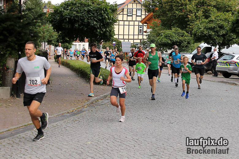 Brockenlauf 9km Start 2016 - 34