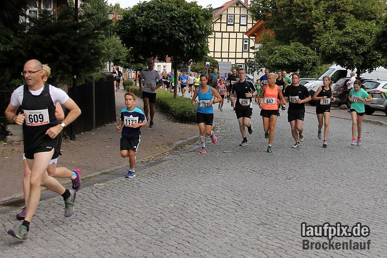 Brockenlauf 9km Start 2016 - 40