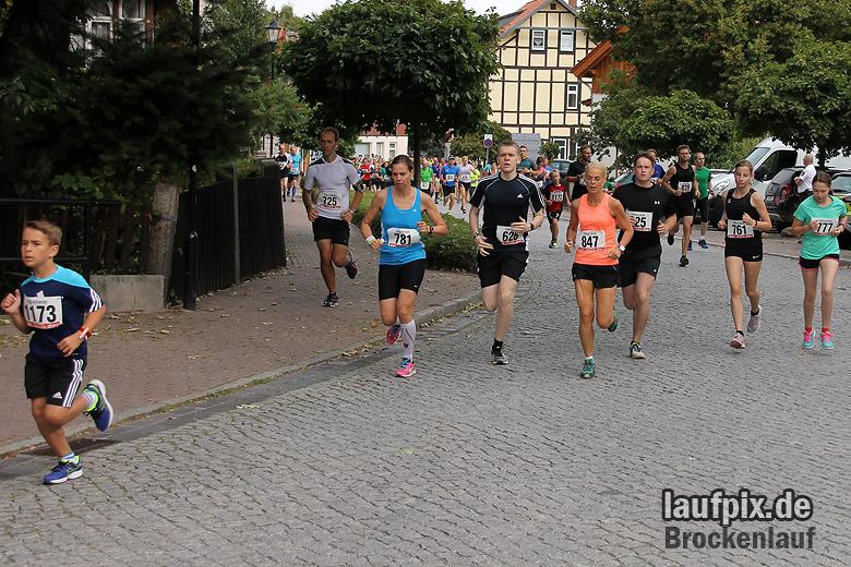 Brockenlauf 9km Start 2016 - 41