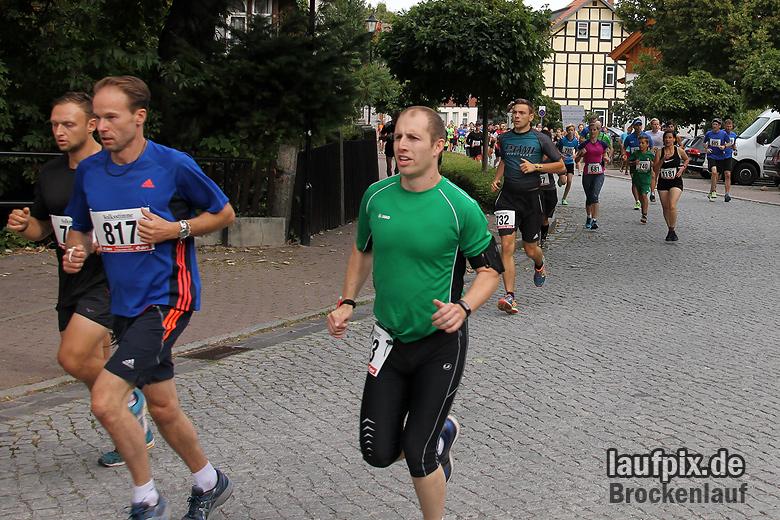 Brockenlauf 9km Start 2016 - 48