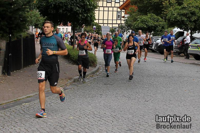 Brockenlauf 9km Start 2016 - 49