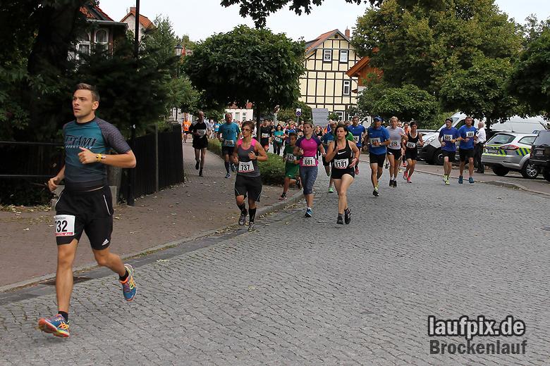 Brockenlauf 9km Start 2016 - 50
