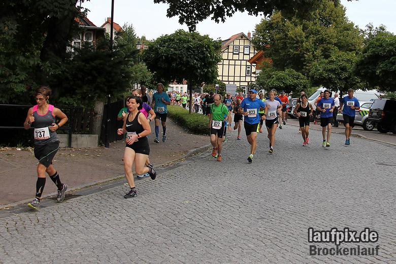 Brockenlauf 9km Start 2016 - 52