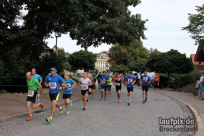 Brockenlauf 9km Start 2016 - 54
