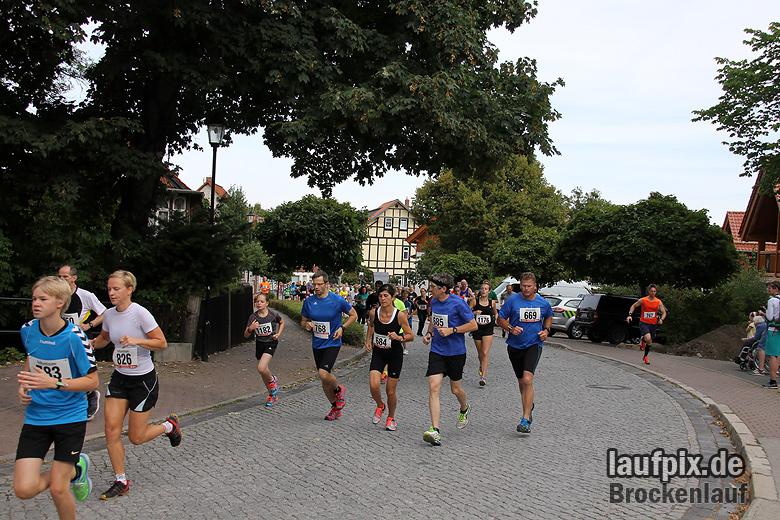 Brockenlauf 9km Start 2016 - 55