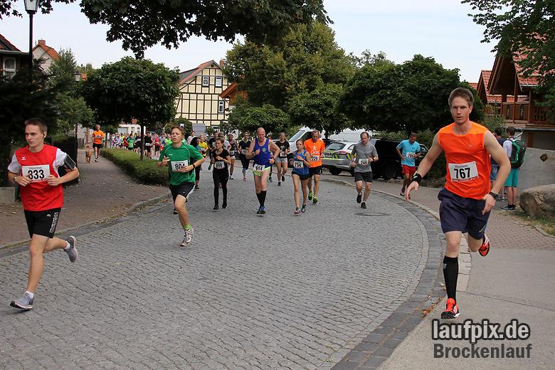 Brockenlauf 9km Start 2016 - 57