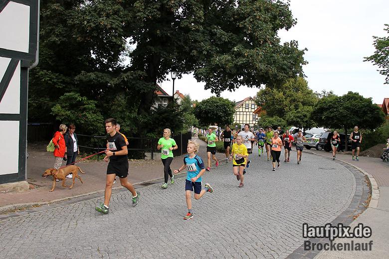 Brockenlauf 9km Start 2016 - 62