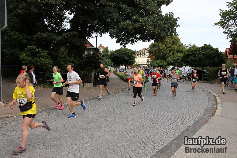 Brockenlauf 9km Start 2016 - 63