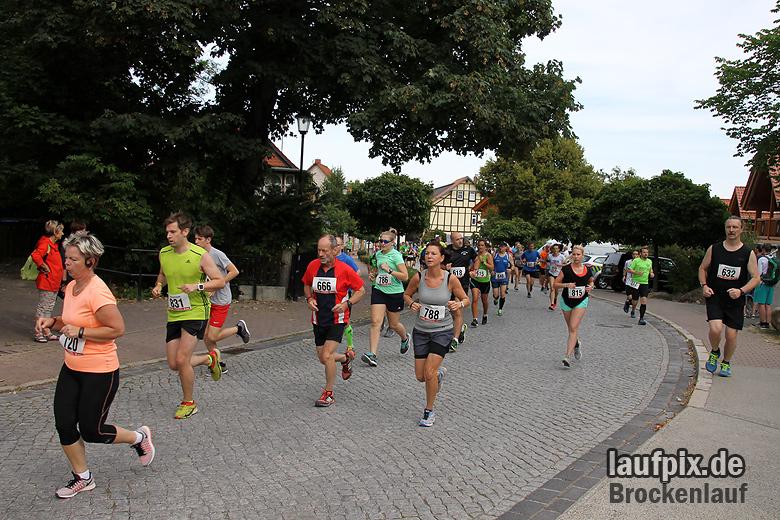 Brockenlauf 9km Start 2016 - 66