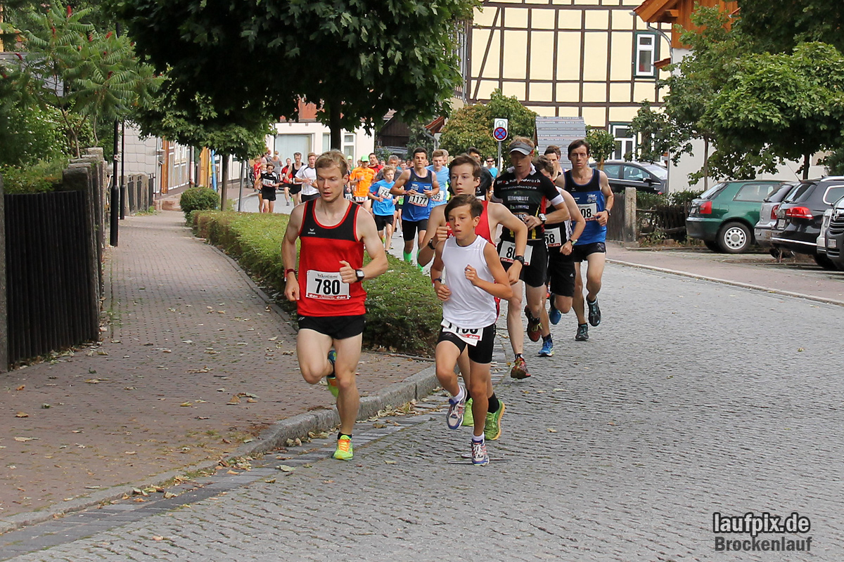 Brockenlauf 9km Start 2016 - 10