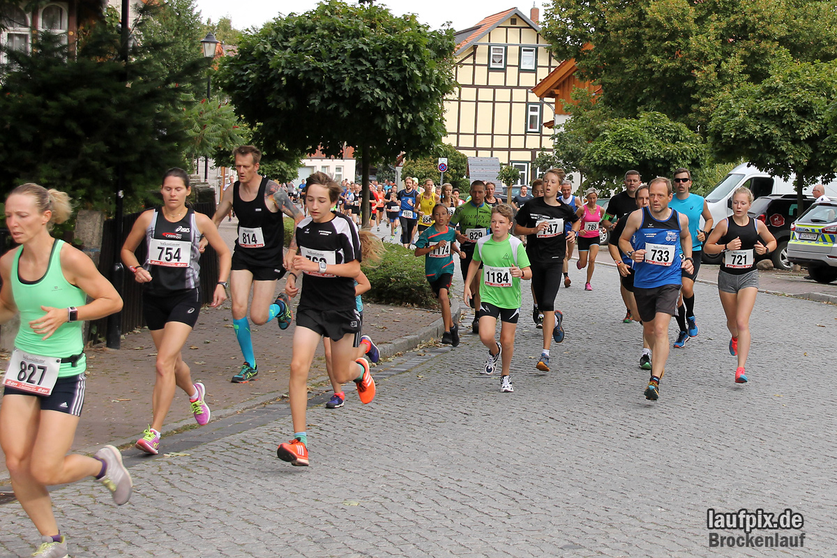 Brockenlauf 9km Start 2016 - 25