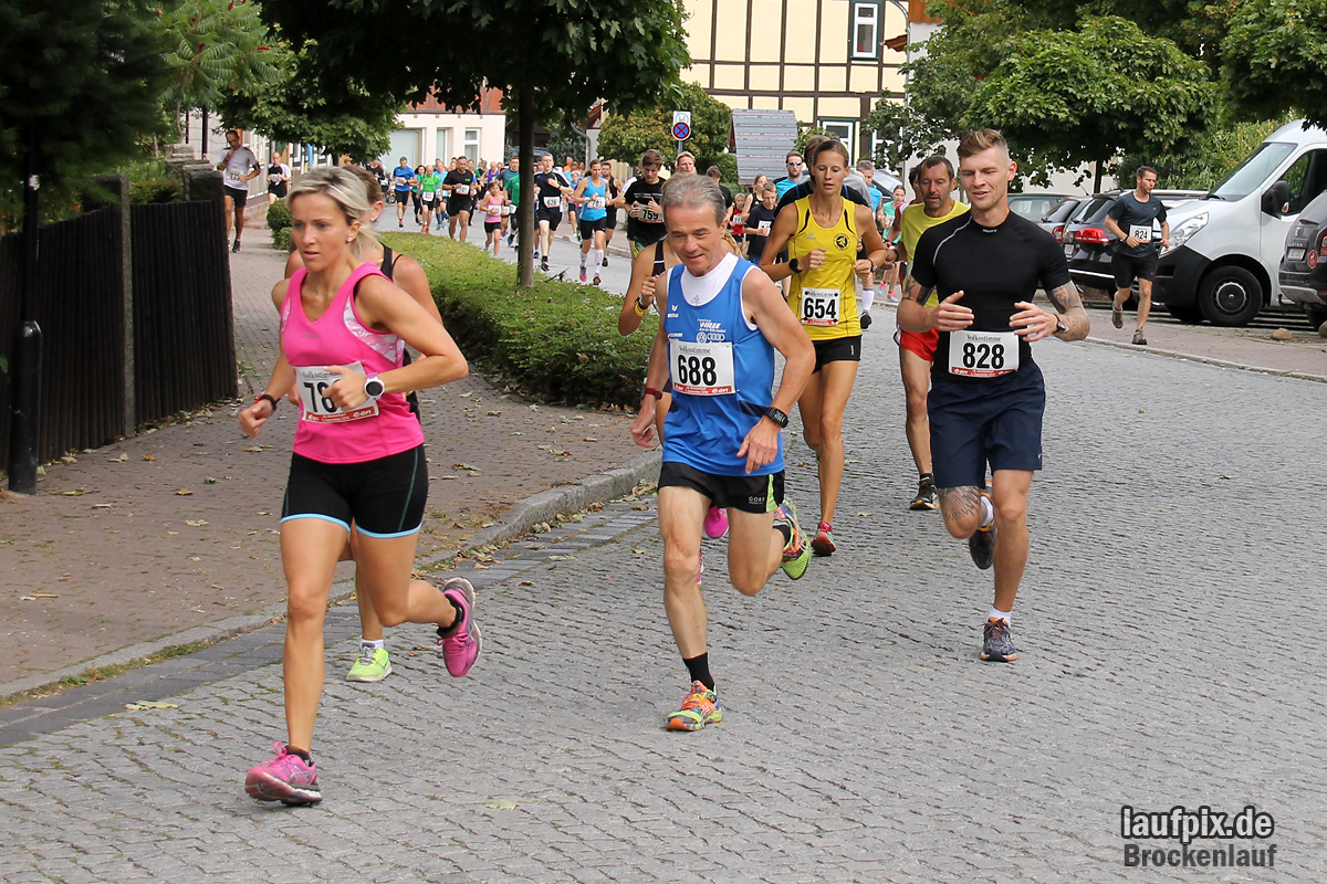 Brockenlauf 9km Start 2016 - 30
