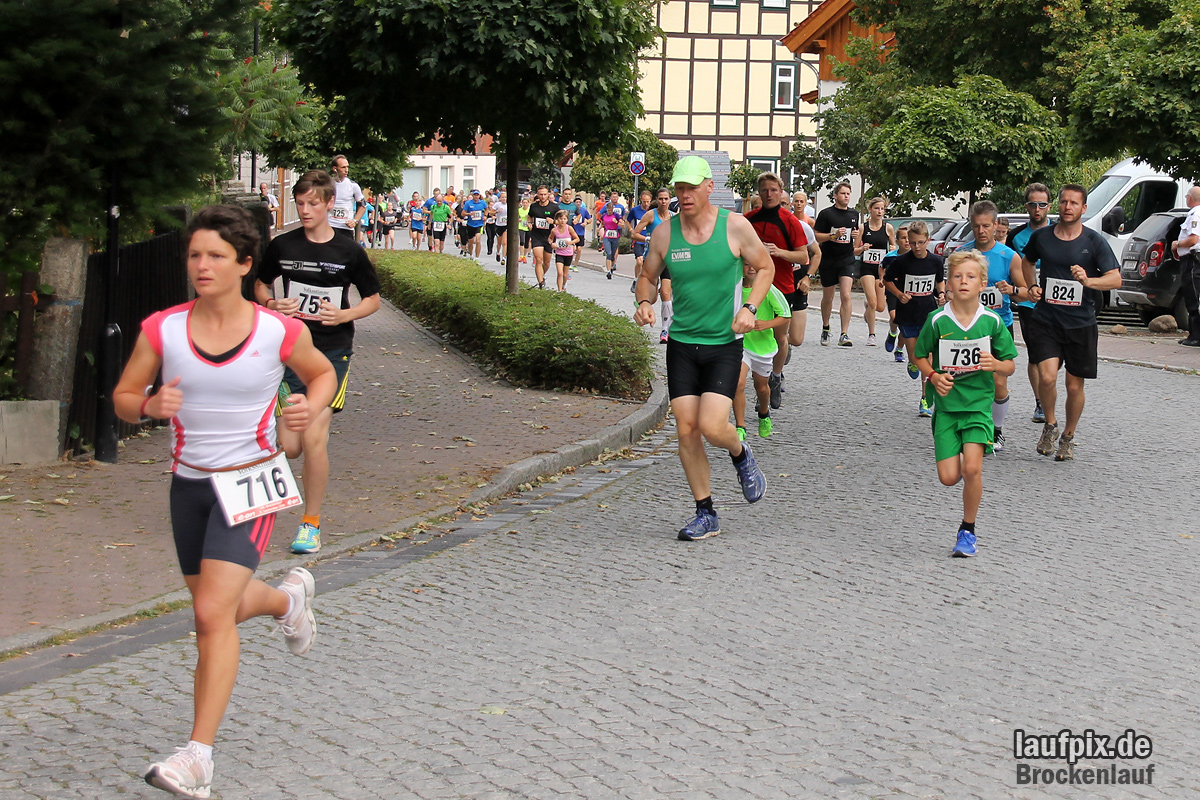 Brockenlauf 9km Start 2016 - 35
